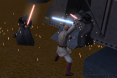 Obi-Wan VS The Emeror and his Twin